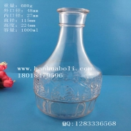 1000ml出口玻璃酒瓶
