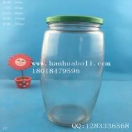750ml黄桃罐头玻璃瓶