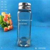 100ml方形胡椒粉玻璃瓶