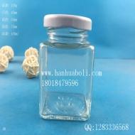 100ml方形果酱玻璃瓶
