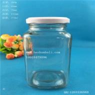 370ml长方形麻辣酱玻璃瓶