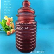 270ml喷涂玻璃储物罐
