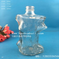 250ml树根玻璃酒瓶