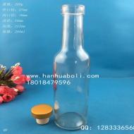 200ml木塞口红酒玻璃瓶
