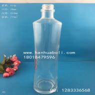 高档750ml收腰橄榄油玻璃瓶