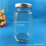 180ml六棱酱菜玻璃瓶