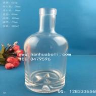 500ml威士忌玻璃酒瓶