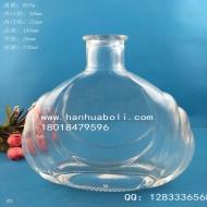 700ml出口工艺玻璃酒瓶