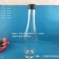 375ml厚底亚麻籽油玻璃瓶