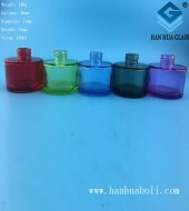 130ml喷涂圆形香薰玻璃瓶