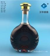 700ml威士忌玻璃酒瓶