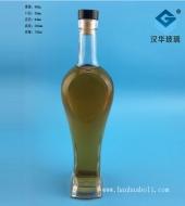 700ml心形工艺玻璃酒瓶