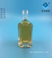 100ml方形玻璃小酒瓶