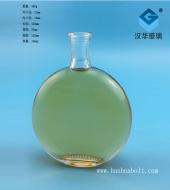 140ml扁圆玻璃小酒瓶