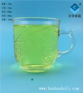 120ml心形咖啡玻璃杯