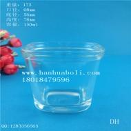 100ml方形布丁玻璃瓶