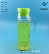 900ml菱形玻璃冷水壶