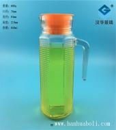 850ml方格玻璃冷水壶