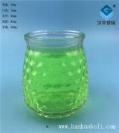 350ml气泡玻璃烛台