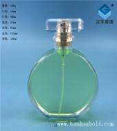 100ml扁圆形香水玻璃瓶