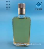 125ml长方形玻璃小酒瓶
