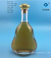 700ml扁葫芦玻璃洋酒瓶